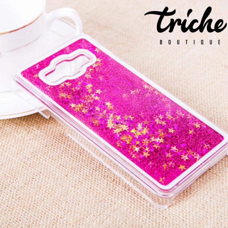 6d5fc2d15c7 Funda Case Brillos Tipo Pecera Agua Rosa Galaxy Grand Prime | Triche