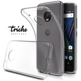 Funda Case Tpu Transparente Suave Flexible Moto G5