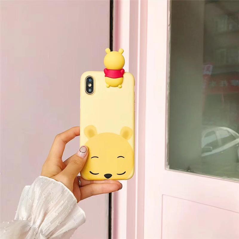 Funda Winnie the Pooh & Personajes Disney para iPhone