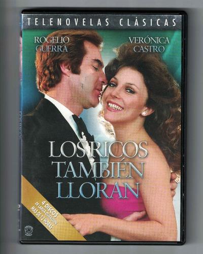 Dvd Telenovela Los Ricos Tambien Lloran
