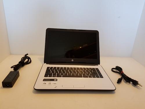 Laptop Hp 14-an007la Blanco Amd A8 6 Ram Mercado Pago/envios