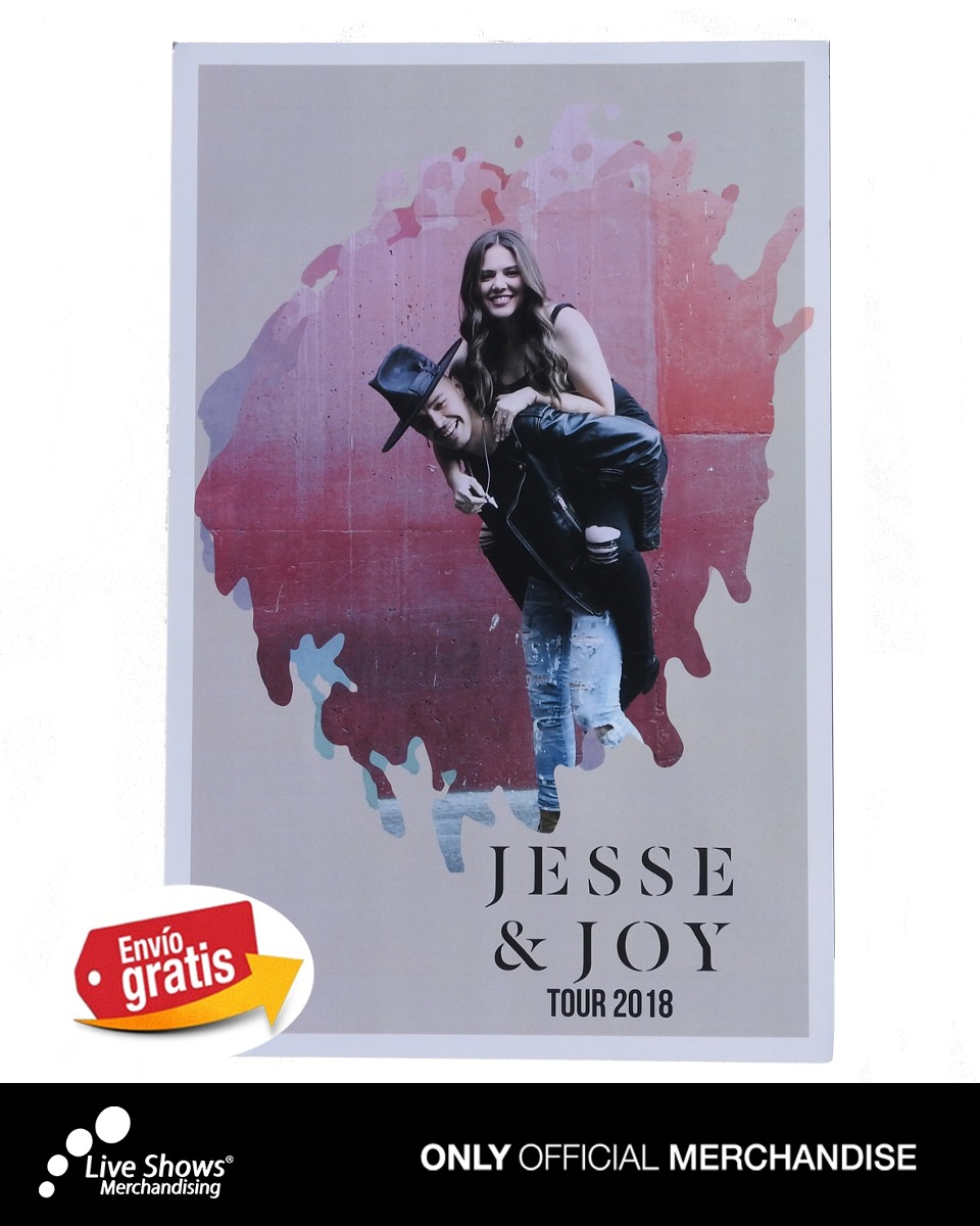 Poster JESSE & JOY Tour 2018