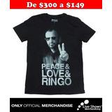 Playera Oficial RINGO STARR PHOTO