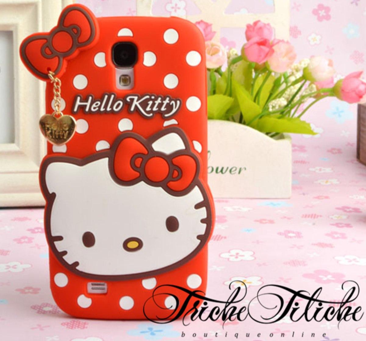811bb69817a Funda / Botarga Hello Kitty Galaxy S5 | Triche