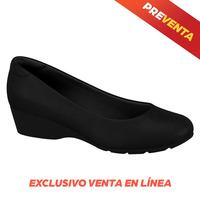 Zapatilla de alto confort negro EC0001