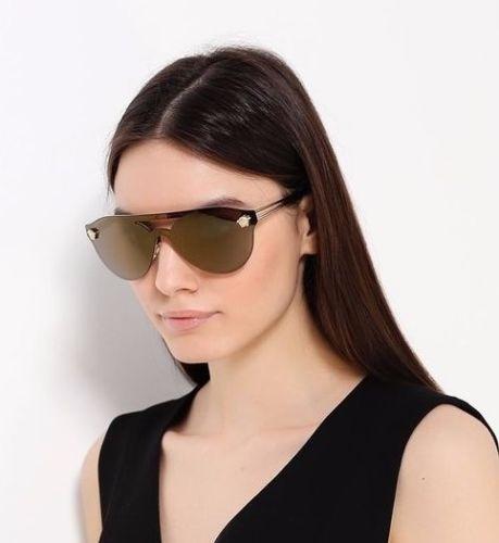 d93f4a03aa ... comprar Lentes Versace Medusa Rock Icon Gold Espejo Gafas Original ...