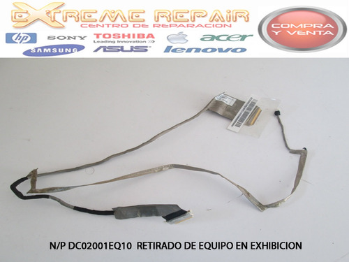 Cable Flex De Video Lenovo G485 G480 Series N/p Dc02001eq10