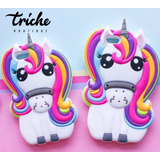Funda Botarga Unicornio Arcoiris Colores LG X Style Triche