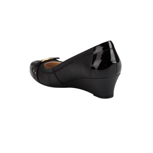 43002742 Negro Piel Comodo Comprar Zapatos Confort Tacon Dama Co174 Flexi 1PwCawqY
