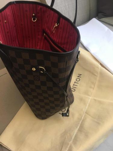 826ea7ca5 Bolsa Louis Vuitton Neverfull Damier Ebene Mm en venta en Praderas ...