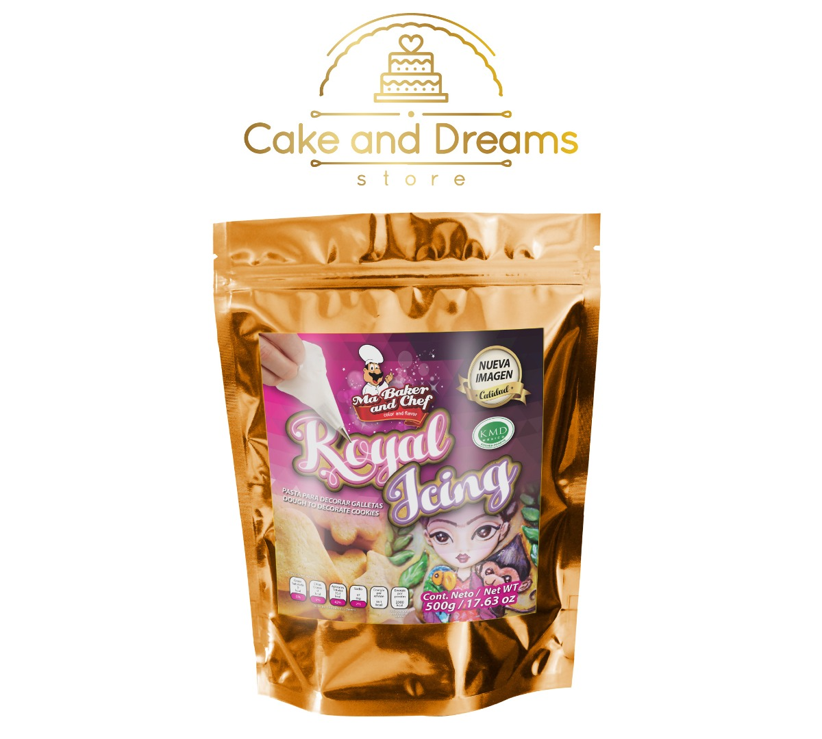 Royal Icing 500 g - Ma Baker and Chef