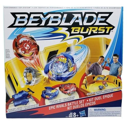 Beyblade Burst Estadio Kit Duelos Epicos Beystadium Hasbro
