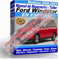 FORD WINDSTAR 2000-2003 (espanol)