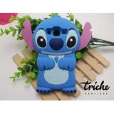 Funda Botarga Stitch Azul Galaxy Grand Prime Plus Triche