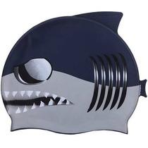 f7305aa4bc Comprar Gorra Infantil Para Natación Modelo Tiburon Gris - Escualo