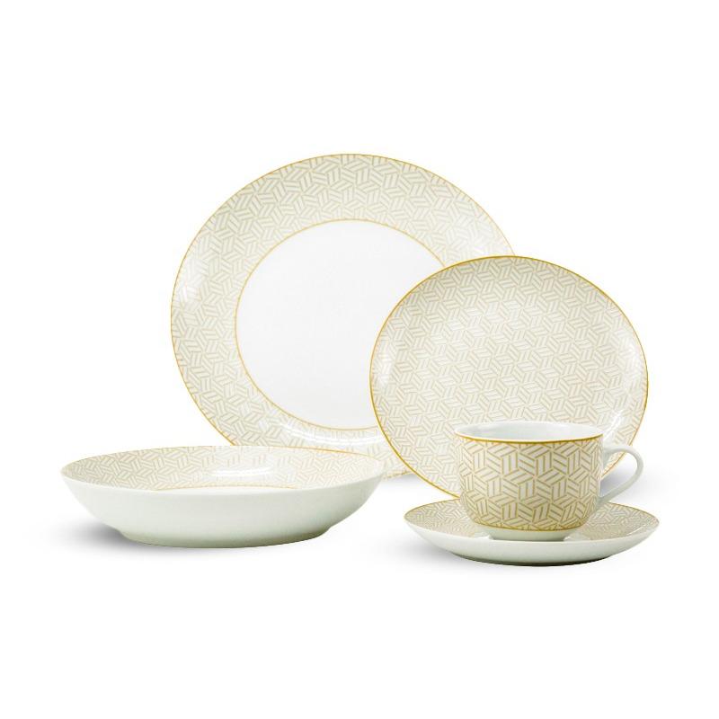 Vajilla de Porcelana 20 pz Mindoro 9580126