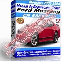 FORD MUSTANG 2002-2004 (espanol)