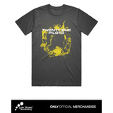 TWENTY ONE PILOTS TOP YELLOW PHOTO BLACK TEE