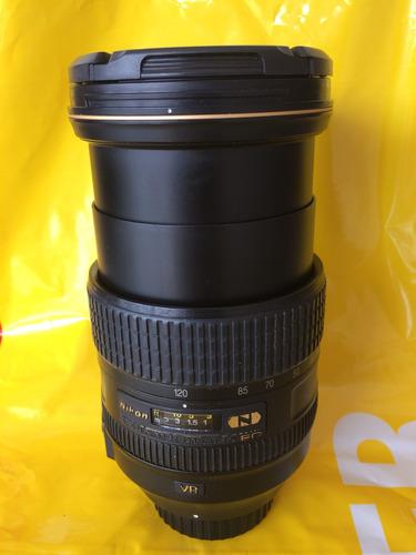 Nikon 24-120 N Nano Cristal Con Detalle Auto Enfoque
