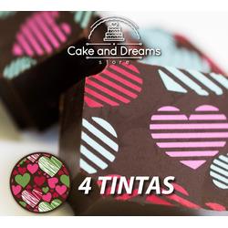 Transfer para Chocolate San valent&ia...