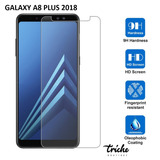 Cristal Templado Mica Contra Golpes Galaxy A8 Plus 2018