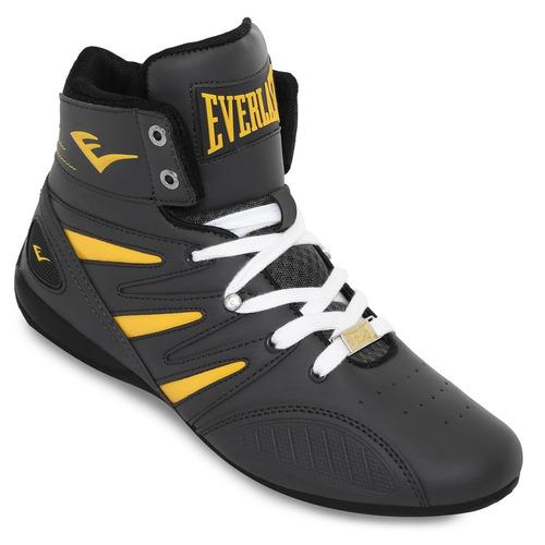 411627be331 comprar Bota Everlast Entrenamiento Box Negra-amarillo Original 2018 ...