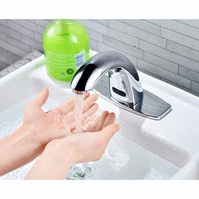 Llave automatica p lavabo agua fria caliente envio for Llave para lavabo sencilla