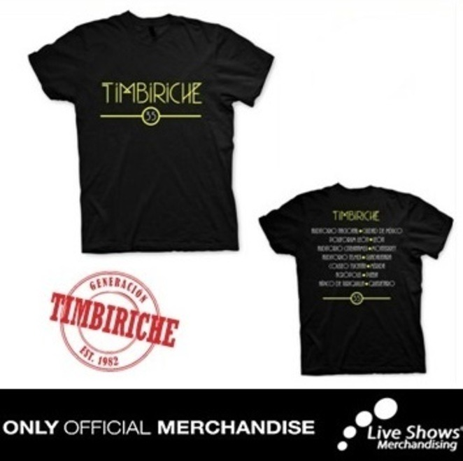 Playera Oficial TIMBIRICHE TOUR DAMA