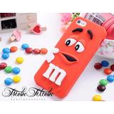 Funda/Case/Protector M&Ms Rojo iPhone 5c