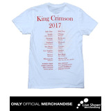 Playera Oficial KING CRIMSON RADICAL ACTION