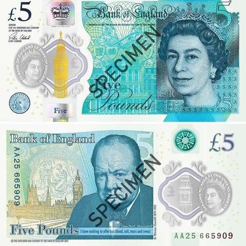 Libra Esterlina , Moneda Inglesa. Precio Por Unidad 40,