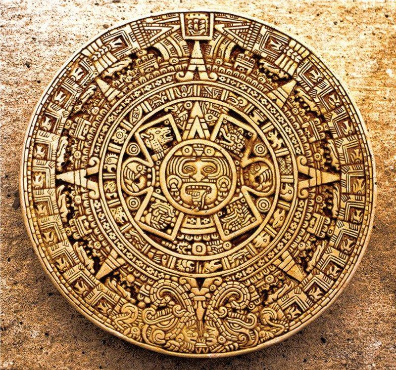 Calendario Azteca.Poster El Calendario Azteca Rompecabezas Mexicanos