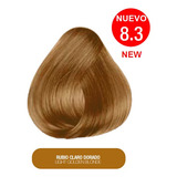 Tinte Barcelona Pharma tono 8.3 Rubio Claro Dorado