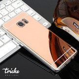 Funda Case Espejo Contorno Flexible Color Galaxy S7 Edge