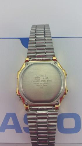 0196e8a55d6a Casio Retro Dorado Vintage A168wg 100% Original Garantizado en venta ...