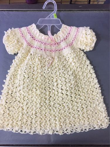 Vestido Color Perla Tejido En Crochet En Venta En Durango