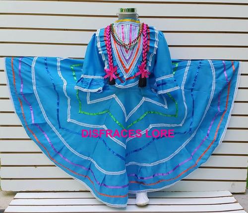 Vestido Jalisco Tallas 14 Y 16 Vestuario Traje Jalisco R10