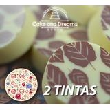 Transfer para Chocolate 2 tintas - Ma Baker and Chef
