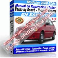 DODGE VERNA BYHYUNDAI ACCENT 2000-2006 (espanol)