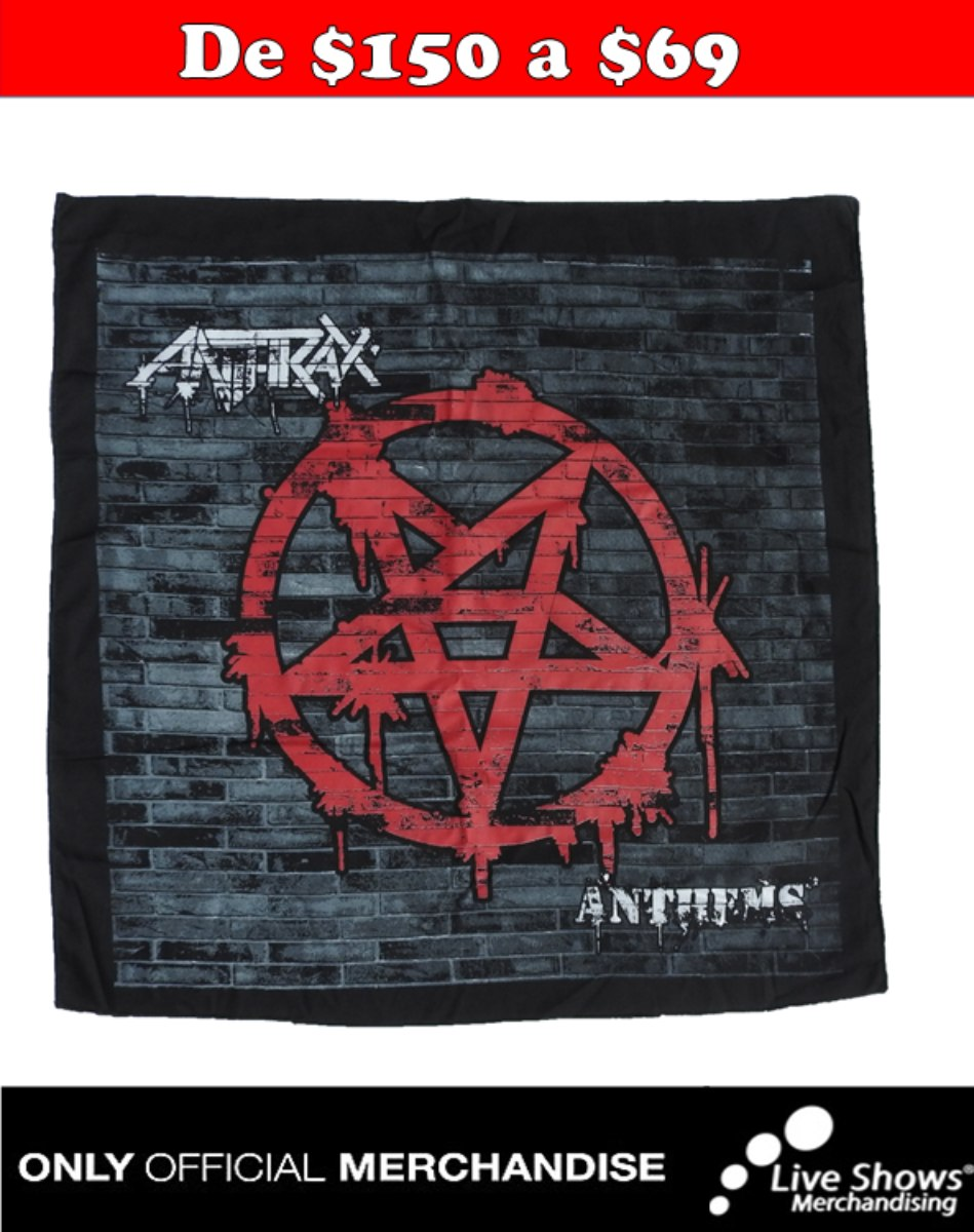 Paliacate Oficial ANTHRAX