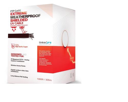 Bobina Ftp Cat 5e Blindado Linkedpro 100% Cobre Procat5ext