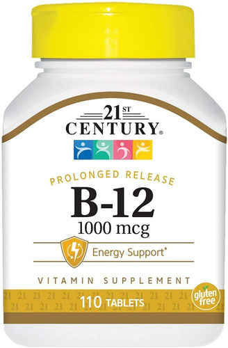Vitamina B12 Premium 1000 Mcg 110 Tabletas Eg B16