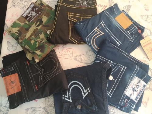 Lote D 2 Pantalon Jeans True Religion T 34 Solo Julio 2299 Byhpb Precio D Mexico
