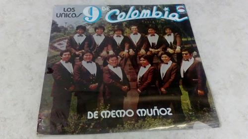 Los Unicos 9 De Colombia De Memo Muños Sellado De Fabrica