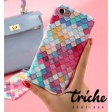 Funda Mosaico Colores Sirena Iphone 8 Triche