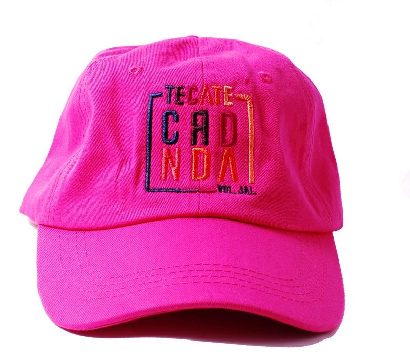 Gorra Oficial Coordenada Pink