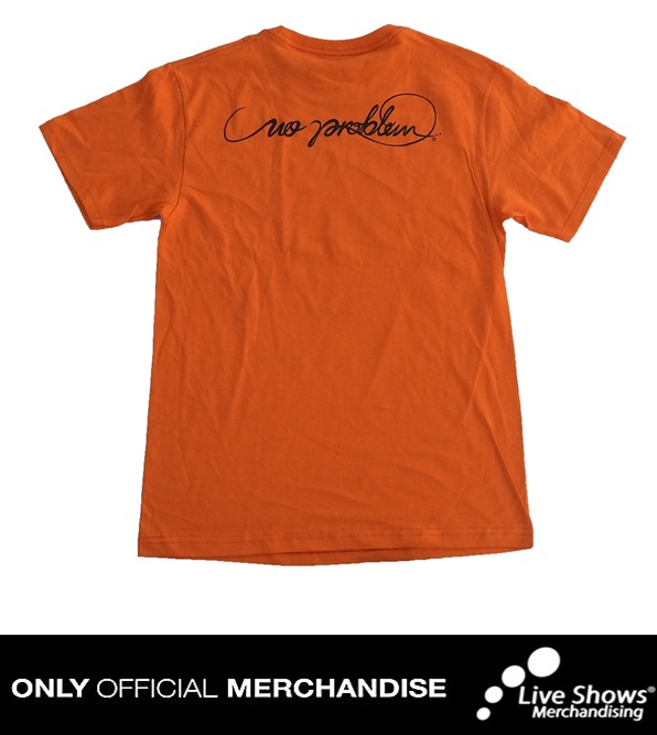 Playera Oficial LOS CALIGARIS Orange Tee