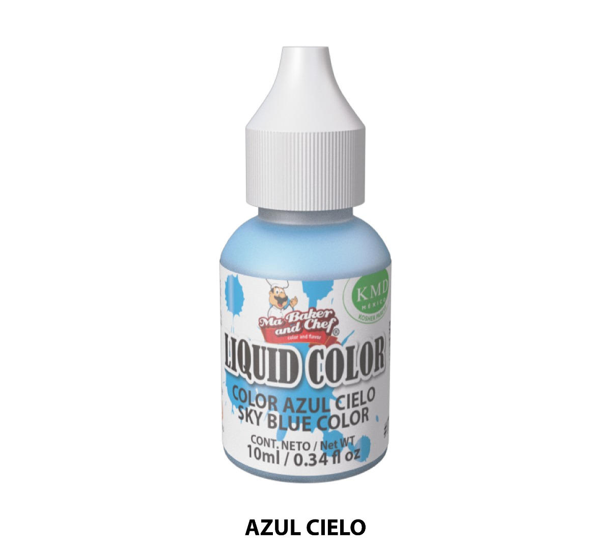 Liquid Color Metálico 10 ml - Ma Baker and Chef