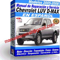 CHEVROLET LUV D-MAX 2005-2008 (espanol)