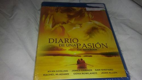 Diario De Una Pasion/ The Notebook En Bluray Nueva